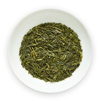 hatsuzumi sencha japanese green tea leaves